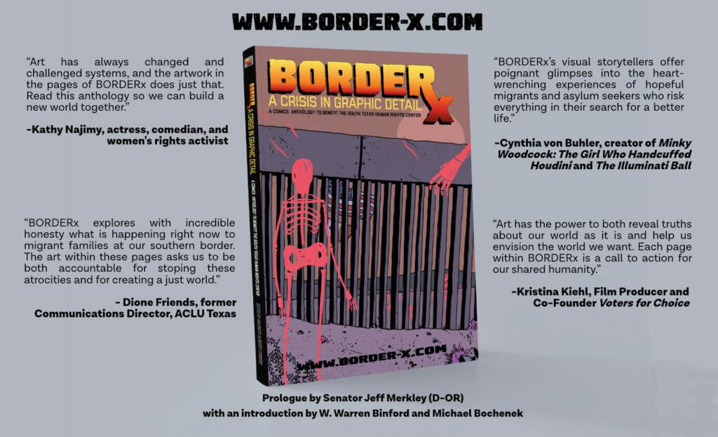 BorderX book mockup